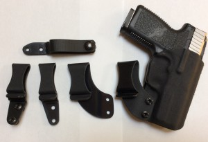 "Custom Carry Concepts ""Quick Cover"" with extra clip options"