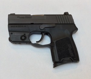 Sig P290 RS, short mag in place