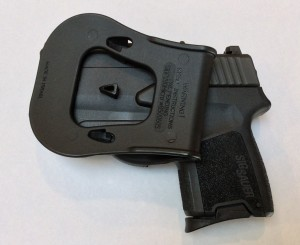 Sig P290 Factory Holster Reverse