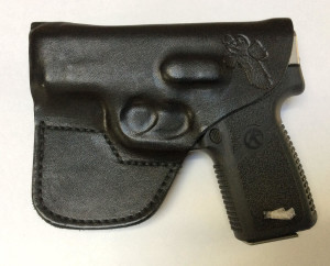 Finished! I perfectly formed holster for the Kahr CT380