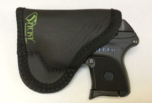 The SM-2 provides a nice fit for the LCP Custom or a Ruger LCP original. Everything fits like it was made for the gun. But, if you have a laser, the SM-3 is a better fit. FYI, I've also carried this around IWB with sweatpants on, all day. It stays PUT.