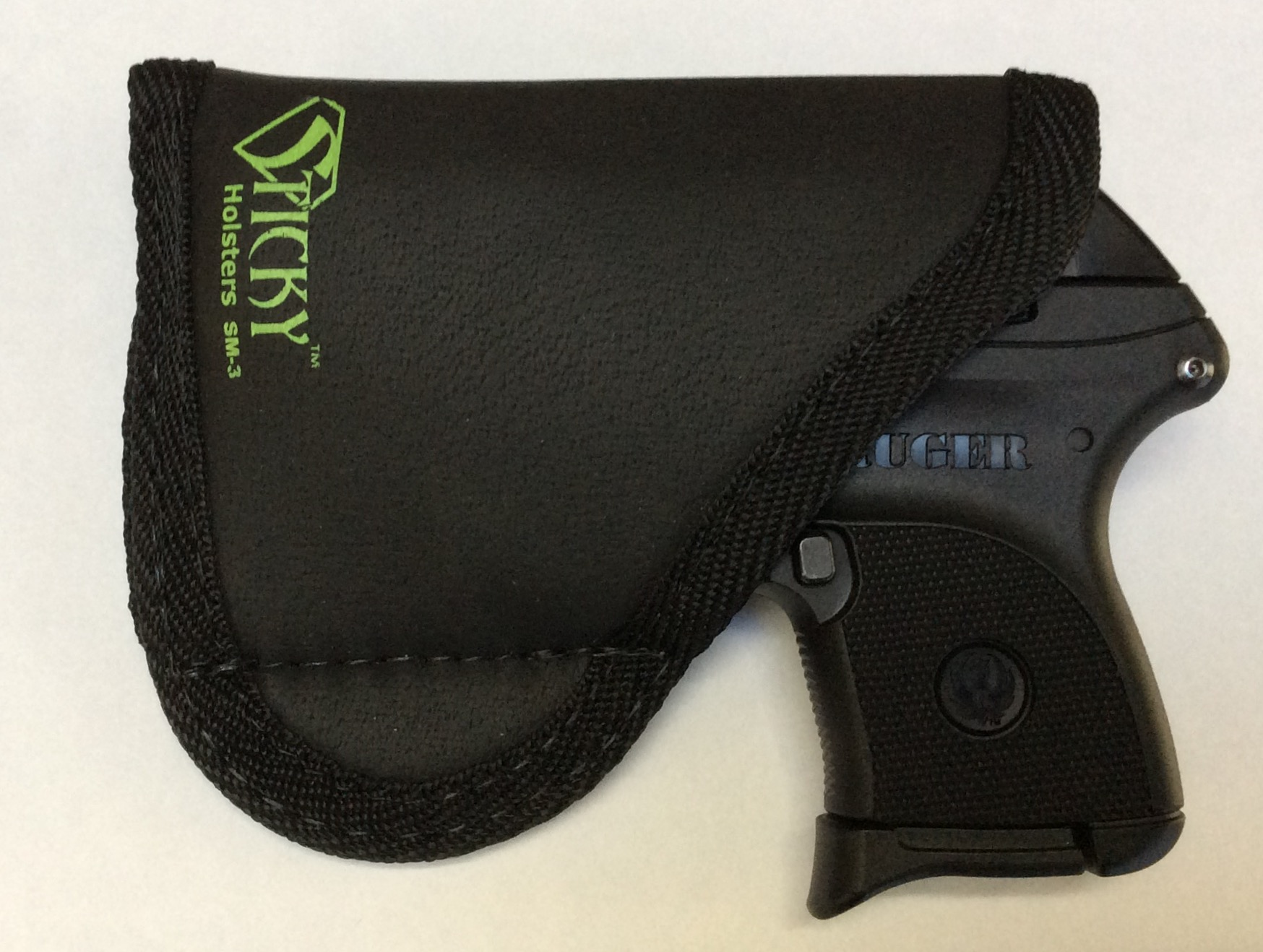 Sticky Holster (Remora) for Ruger LCP - Hank's Holster Review