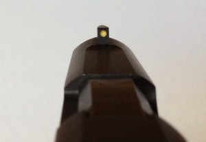 Ruger LCP Custom front night sight (glow in the dark)