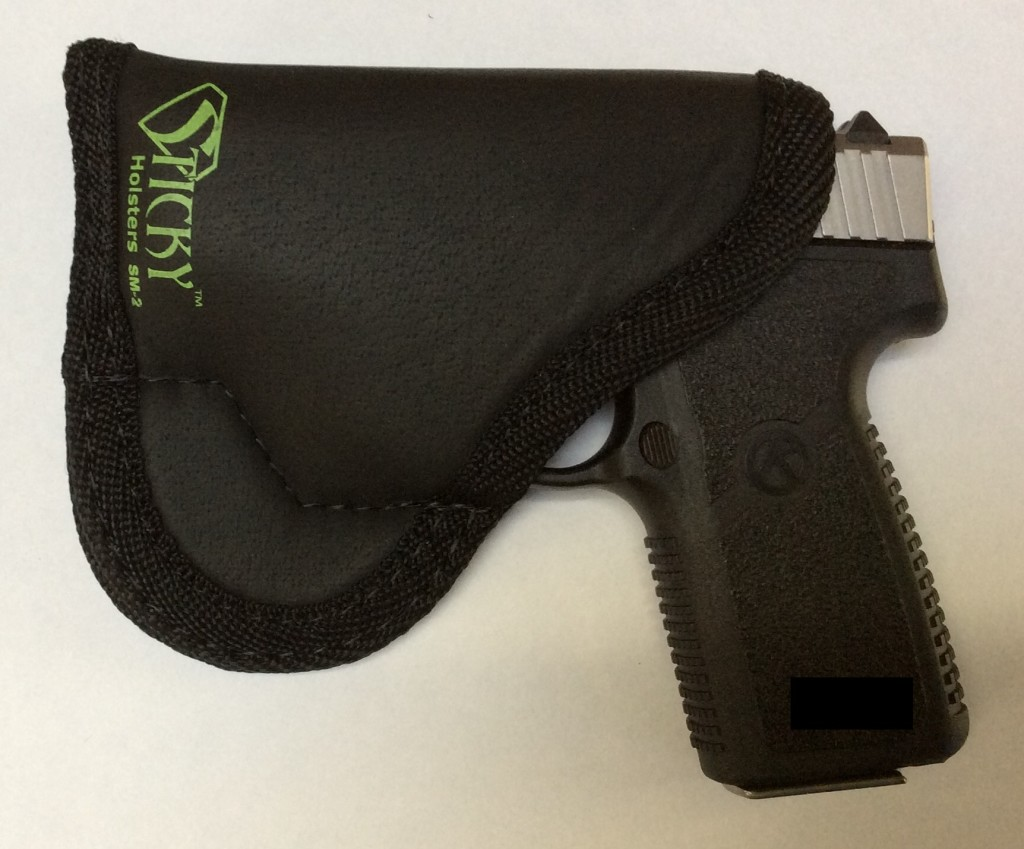Kahr CT380 Sticky Holster front 2