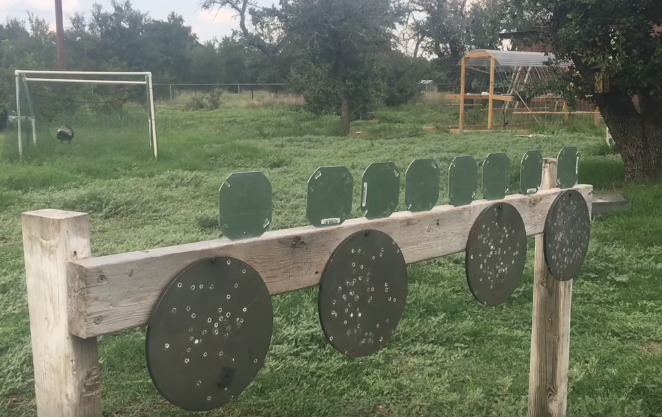 Reactive Steel Airsoft Targets