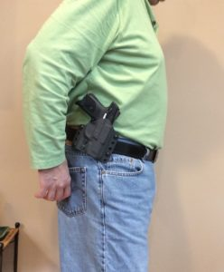 This Holster Conceals a Ruger SR9c