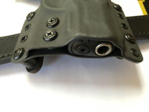 Smooth Kydex Holster Edges
