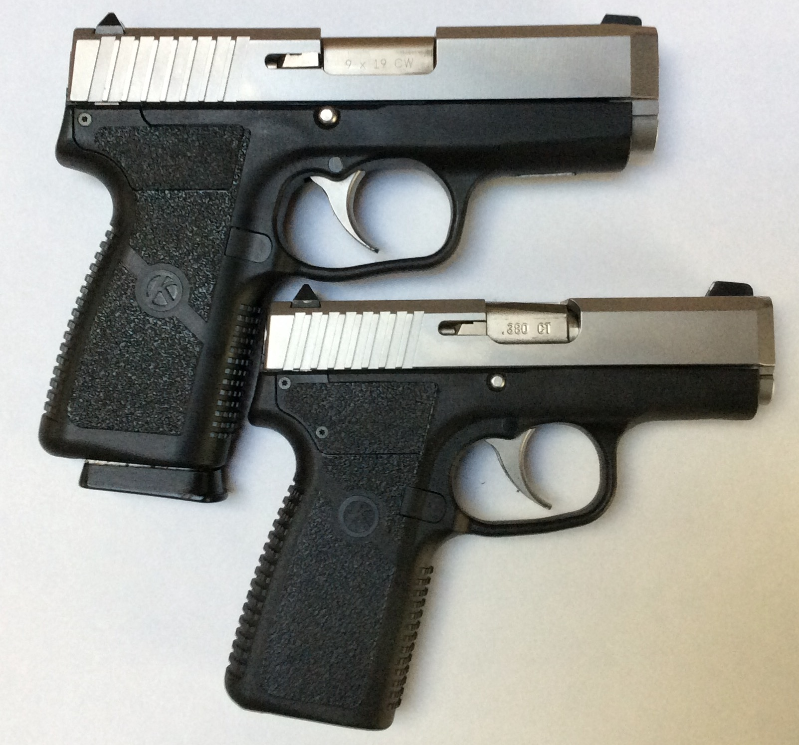 CW9 Compared with Kahr CT380