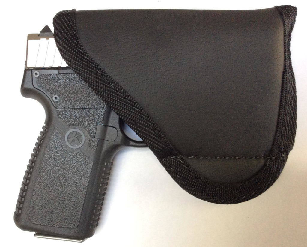Kahr in a Sticky Holster